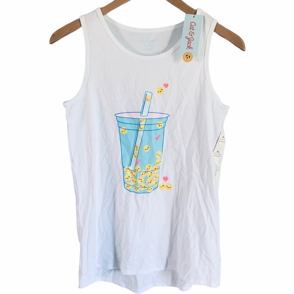 Cat & Jack tank drink with straw size 14/16